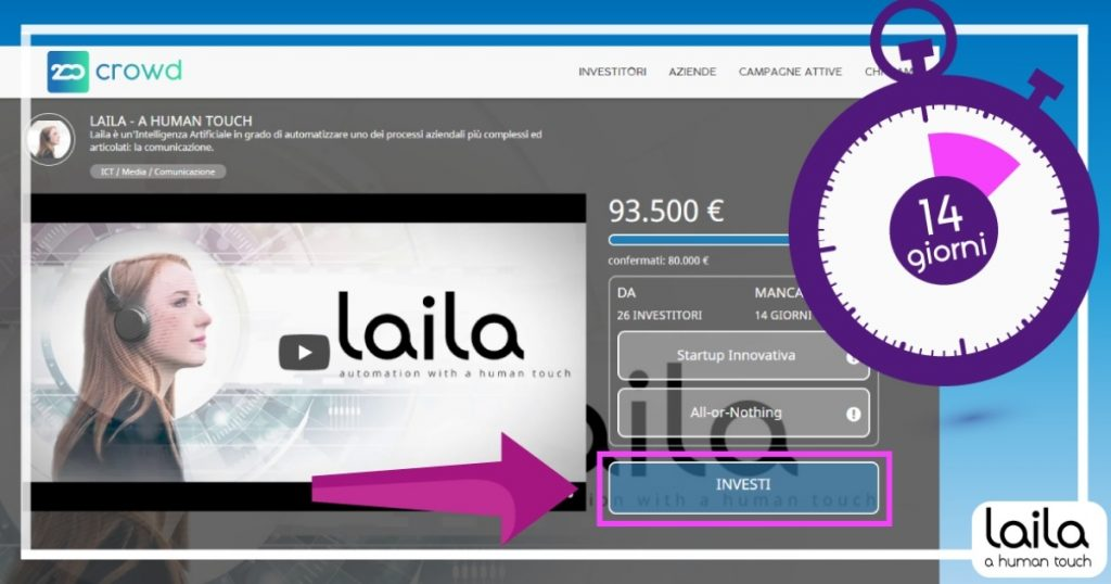 Laila equity crowdfunding