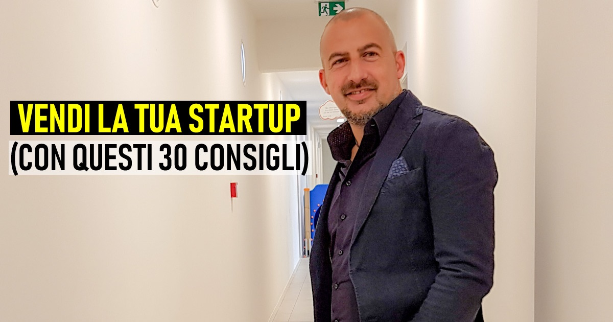 come vendere con la tua startup
